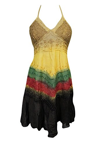 Damen Mogul Neckholder Interior 2 Kleid Mehrfarbig pwq4Fw
