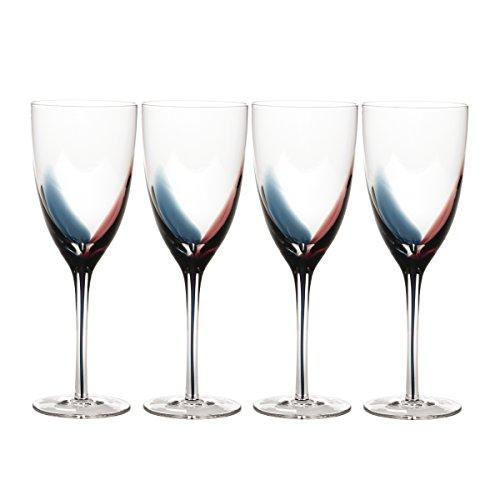 Mikasa Color - Mikasa Kya White Wine Glass 11.5-Ounce, Set of 4