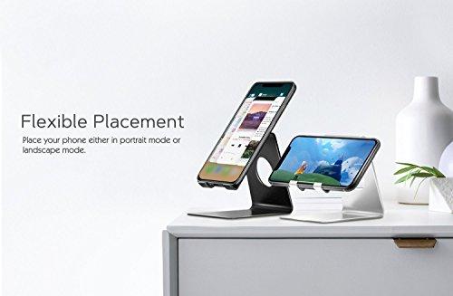 4f1c5a0c4972 Support pour téléphone portable, support d alliage pour smartphone en  alliage d aluminium