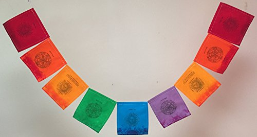 Gratitude,'Thank You' Prayer Flag. All proceeds to families in Mexico. Free domestic shipping. by Guerilla Prayer Flags
