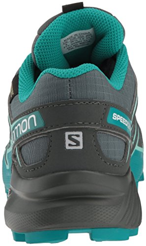 Green Salomon Beach GTX Tropical Green Tropical Beach Balsam Green Vert W Chaussures Speedcross Green Nocturne Femme de Trail Glass Glass Balsam 4 rnpRPWxr