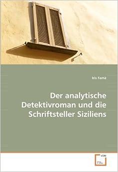 Der analytische Detektivroman und die Schriftsteller Siziliens