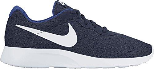 Nike Men's Tanjun Running Shoe Midnight Navy/White-Game Royal 10 D(M) US