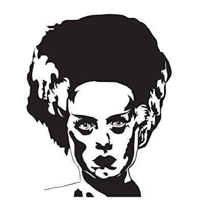 Celebrities Stickers Bride of Frankenstein 5x4: Toys & Games