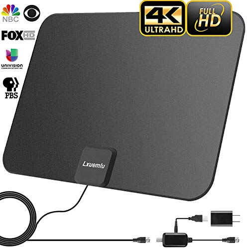2020 Upgraded Hdtv Antenna Indoor Digital Tv Antenna 120 Miles Range Hd Antenna With Amplifier Signal Booster And 13ft Coaxial Cable Extremely High Reception