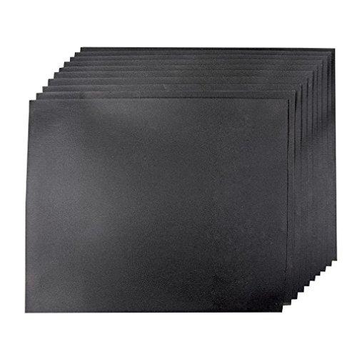 Silverline 741343 Nass- und Trocken-Schleifpapier, 10er-Pckg. 1200er-Körnung