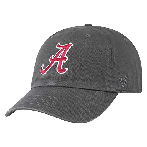 Top of the World Alabama Crimson Tide Men's Hat Icon, Charcoal, ()