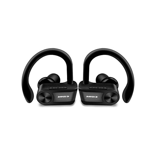 chollos oferta descuentos barato Avenzo AV652 Auriculares True Wireless Bluetooth Deportivo Color Negro