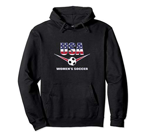 USA United States Women's 2019 Hoodie Sweatshirt Soccer