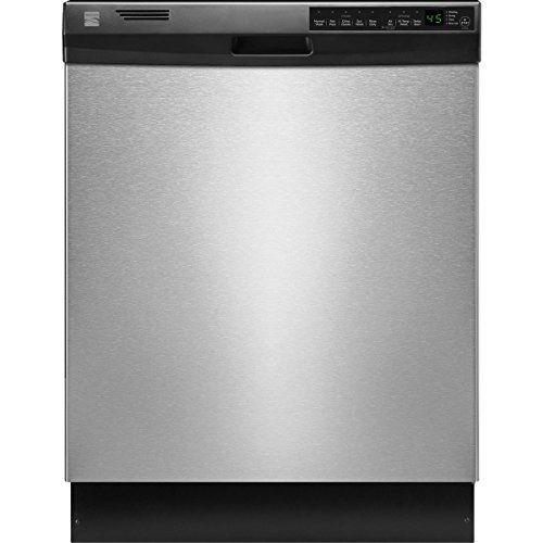 Kenmore 12333 24″ Built-In Dishwasher, Stainless Steel (Available in Select Cities)