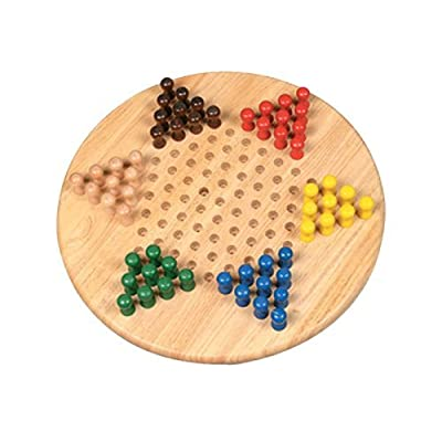 "17"" Jumbo Chinese Checker: Toys & Games"