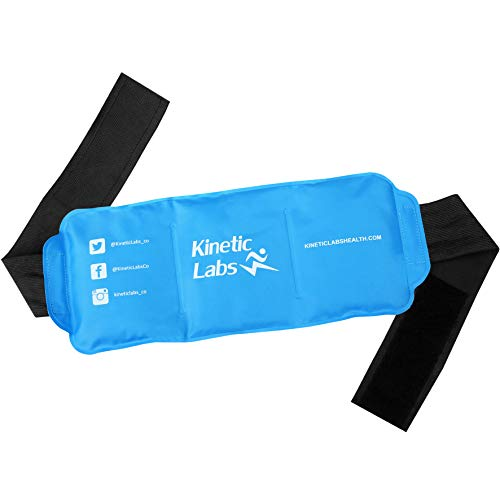 Kinetic Labs Gel Ice Pack for Injuries and Pain Relief | Reu