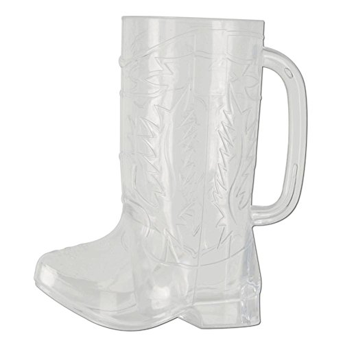 Plastic Cowboy Boot Cup Party Accessory (1 count)