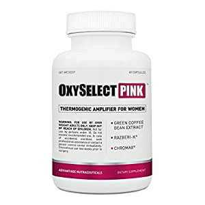 OxySelect Pink (60 Caps) - Best Weight Loss Supplements for Women - Top Rated Diet Pills for Women
