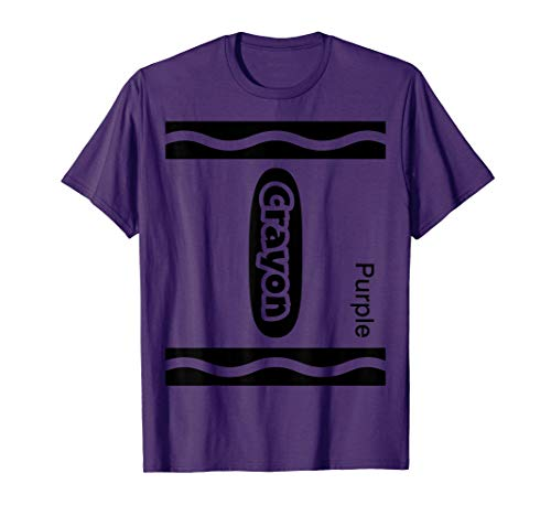 Purple Crayon Costume - Halloween Purple Crayon Costume Funny