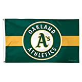 MLB Oakland A's 01784115 Deluxe Flag, 3' x 5'