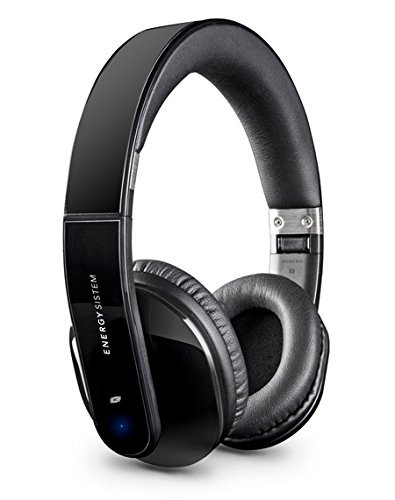 Energy Sistem BT5+ - Auriculares de diadema cerrados Bluetooth 4.0 (NFC, control talk y line-in), color negro: Energy-Sistem: Amazon.es: Electrónica