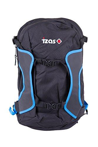 IZAS Erwachsene Backpack 26l BRITTON, Black/Royal, ONE, IUABP00709BK/RYONE