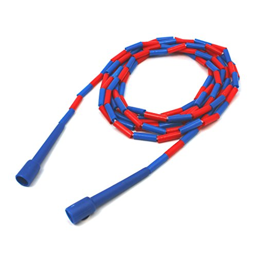 Dick Martin Sports MASJR16 Plastic Jump Rope, 1'' Height, 4.5'' Wide, 17'' Length, 16' by Dick Martin Sports