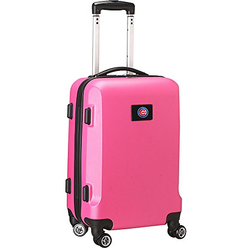 MLB Chicago Cubs Carry-On Hardcase Spinner, Pink by Denco