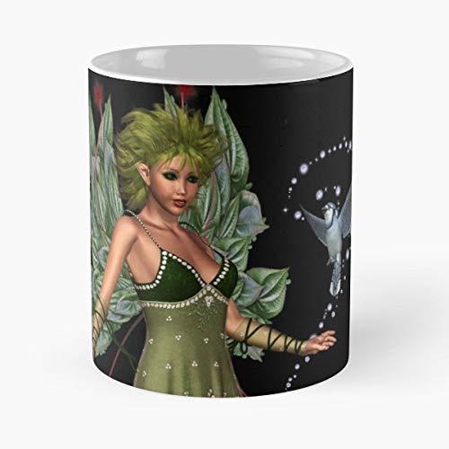 (Bluebird Enchanting Fairy Tales Coffee Mugs Best Gift 11 Oz)