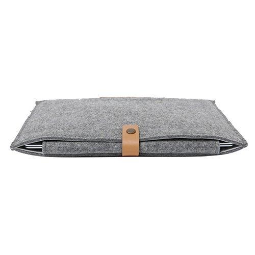 (MacBook Air Cover Case - TOOGOO(R)New Woolen Felt Envelope Bag Cover Pouch Sleeve Case For MacBook Air 11