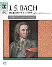 Bach - Inventions and Sinfonias (2 and 3 Part Inventions): Comb Bound Book and CD