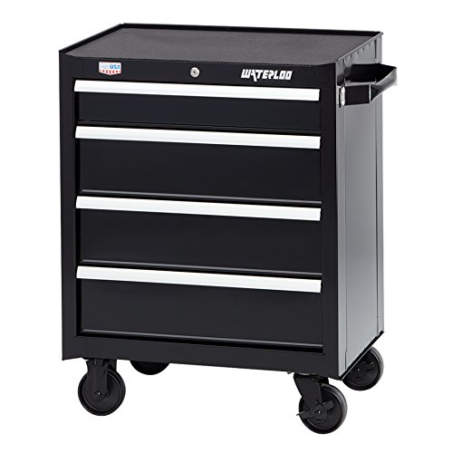 Waterloo W300 Series 4-Drawer Rolling Tool Cabinet, 26