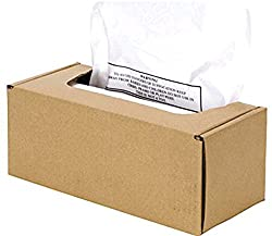 Fellowes Powershred Waste Bags For Automax 500c And 300c Auto Feed Shredders 50 Bags Ties 3608401