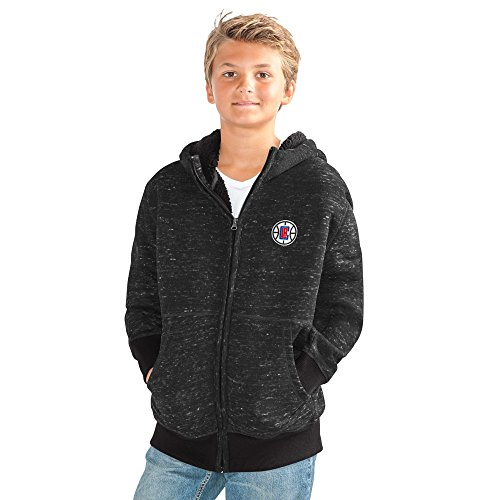 G-III Sports NBA Los Angeles Clippers Discovery Transitional Jacket, Small, Black