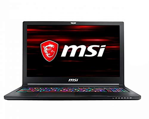 CUK MSI GS63 Stealth Gamer Notebook (Intel