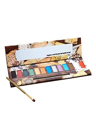 Pop Culture Referenced Eye Shadow Palette Makeup Kits (Supernatural: Monster Guide)