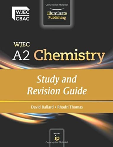 wjec a2 chemistry study and revision guide amazon co uk david rh amazon co uk KS4 GCSE Chemistry Revision A Level Chemistry Revision
