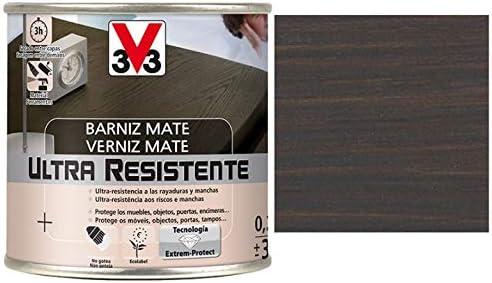 BARNIZ MADERA INTERIOR V33 WENGU: Amazon.es ...