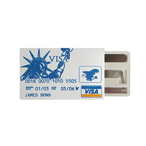 - Multi Card Fun & Useful Practical Set of Tools that will fit your Wallet