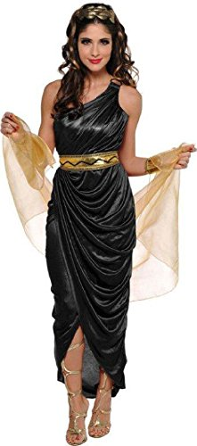 amscan Adult Queen of The Nile Costume - Small (2-4), Multicolor ()