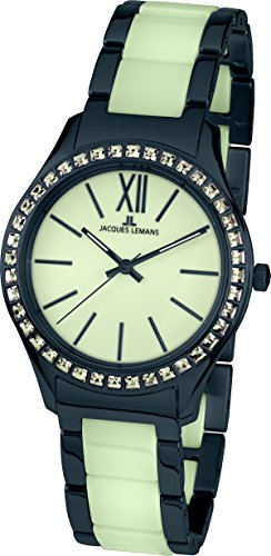 Jacques Lemans Rome 1-1797Q Wristwatch for women With Ceramic Elements