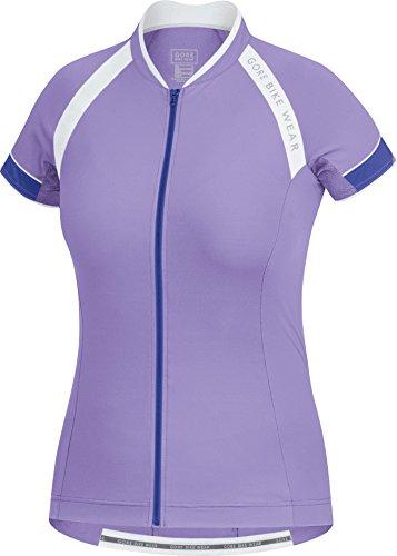 GORE BIKE WEAR Women's Power 3.0 Jersey, Violet/Speed Blue, - Womens Triathlon Outfit