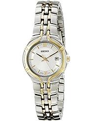 Seiko Womens SXD646 Two-Tone Stainless Steel Watch
