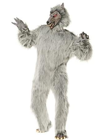 Deluxe werewolf costume for adults  sc 1 st  Amazon UK & Deluxe werewolf costume for adults: Amazon.co.uk: Kitchen u0026 Home