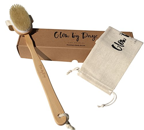 Dry Body Brush Set- Glow By Daye -Cellulite Reduction, Exfoliation, Promote Circulation, and Release Toxins'