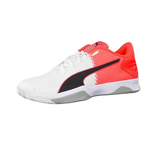 Puma Evospeed Indoor 3.5 - Zapatillas Unisex adulto white-black-red blast