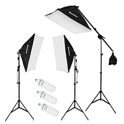 Excelvan 2000W Photography Studio LED Lighting Kit 20x25