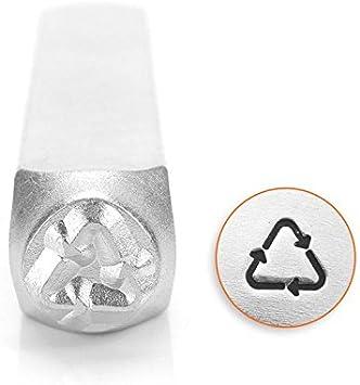 6mm-Metal Stamp-Steel Stamp-Metal Supply Chick Equal Sign-Equality Symbol Metal Design Stamp ImpressArt