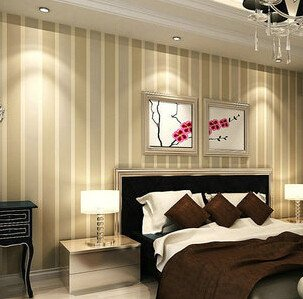 Italian Style Modern 3D Embossed Strip Wallpaper For Living Room Silver And Gray Striped Roll