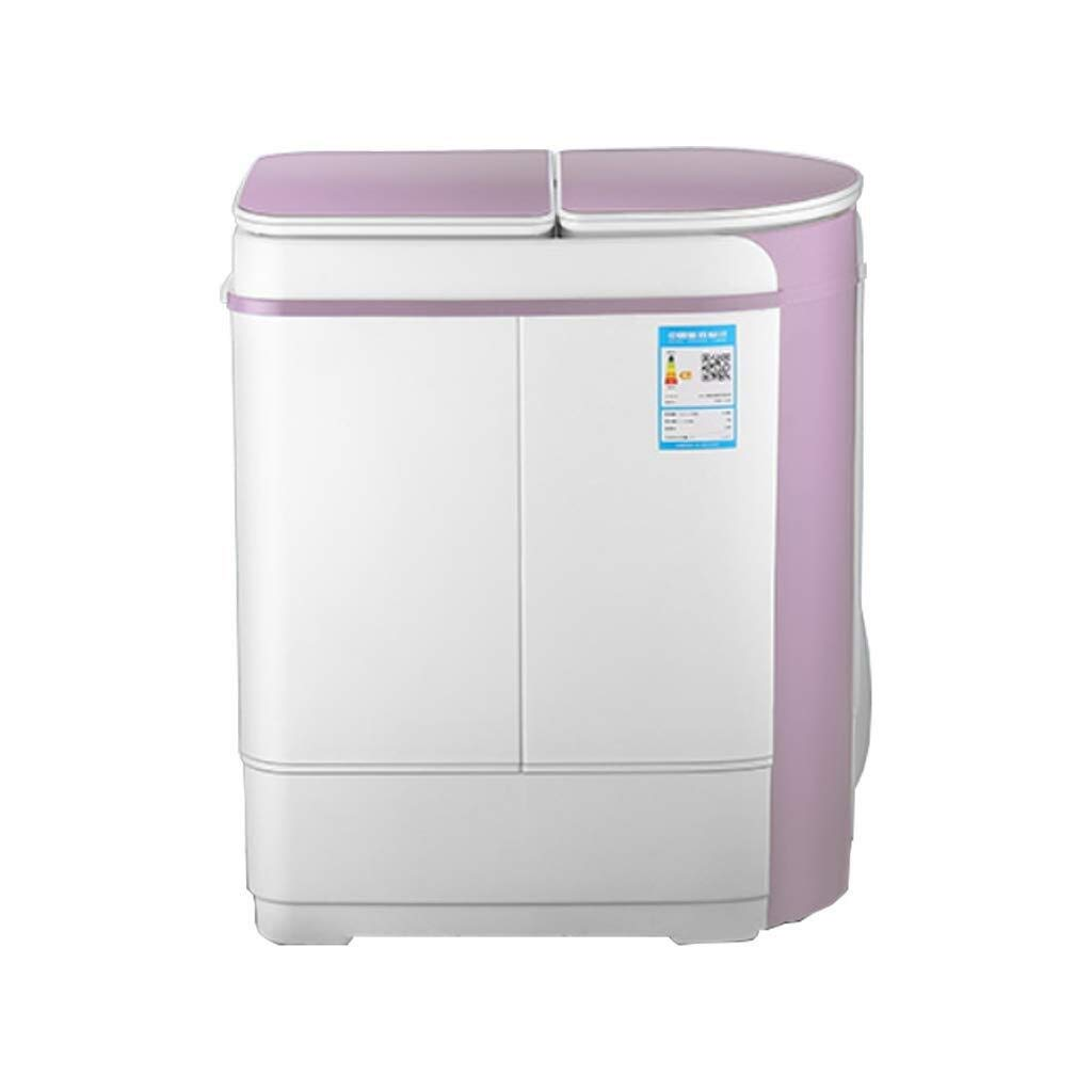 Lavadoras de ropa Doble Tambor hogar semiautomático Mini fáciles ...