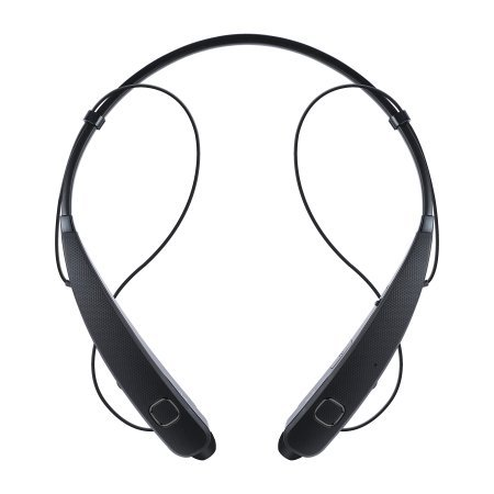LG Tone Pro Lightweight Professional Bluetooth Wireless Stereo Headset Headphones - Black (HBS-781). Actual Weight: Just 1.21 Ounces.