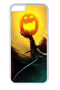 Halloween Headless Horseman Pumpkin Polycarbonate Hard Case Cover for iphone 4 4s inch WhiteKimberly Kurzendoerfer