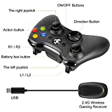 JAMSWALL Xbox 360 Wireless Controller 2.4GHZ