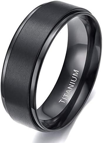 TIGRADE Black Titanium Wedding Comfort product image